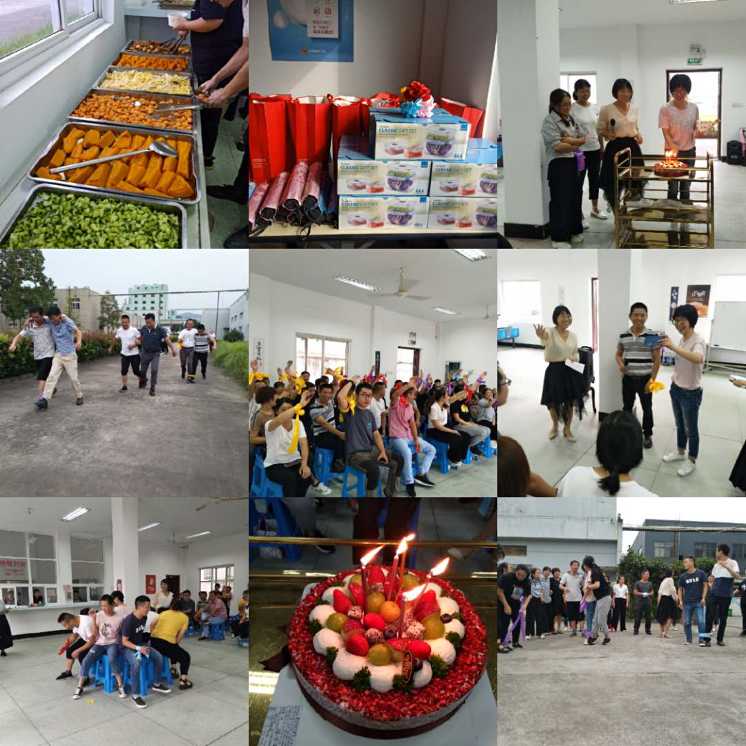 The company held a series of entertainment activities to celebrate the Mid-Autumn and National Day